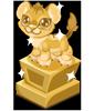 Lion cubby trophy