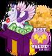 Booster pack jewel pegasus