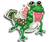 Goal mudskipper icon