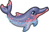 Amazon river dolphin single