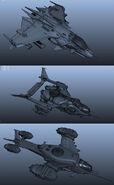 Militia Aircraft Renders