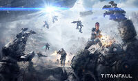Titanfall game informer cover