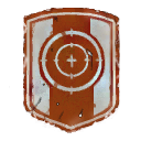 Bullseye Shield