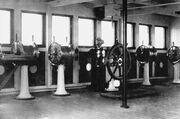 Passerelle de navigation du RMS Olympic