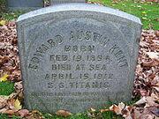 Grave of Edward Austin Kent