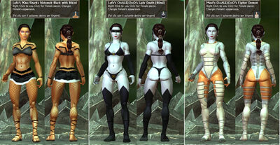 Lufe's-POa's-Sharks Maul's-OoALEJOoO's LadyDeath-NetowebBlack-Fighter Demon