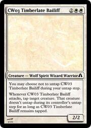 CW03 Timberlate Bailiff