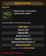 Beacon Parts Box