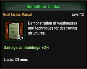 Demolition Tactics