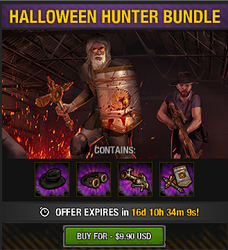 Tlsdz halloween hunter bundle