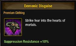 Tlsdz demonic disguise