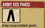 Armydcupants sdw