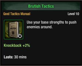 Brutish Tactics