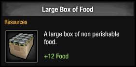 Large Box of Food