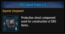 Exo chest