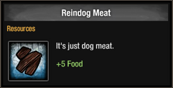 Reindog Meat