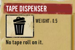 Tlsuc tape dispenser