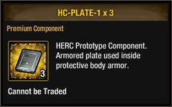 Herc plate