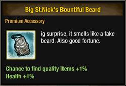 Big St Nick's Bountiful Beard