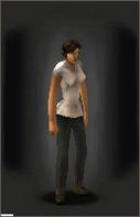 TLSDZ T-Shirt - White equipped female