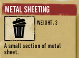 Tlsuc metal sheeting
