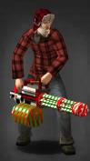 Merry Minigun Survivor
