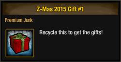 Z-Mas 2015 Gift 1