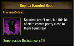 Tlsdz replica haunted hood