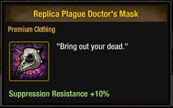 Tlsdz replica plague doctor's mask