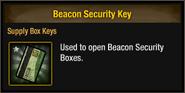 Beacon Security Key