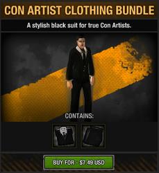 Con Artist Clothing Bundle