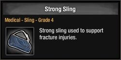 Strong Sling