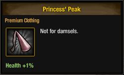 Tlsdz princess peak