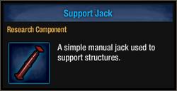 Tlsdz support jack