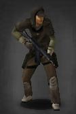 Survivor with Saiga-12