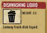 Tlsuc dishwashing liquid