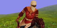 Scarlet Horse Rider