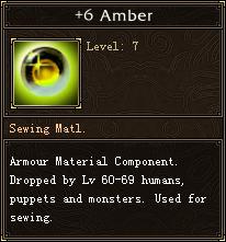6 Amber