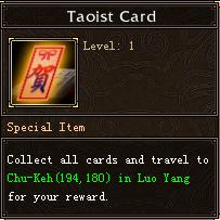 Taoist Card