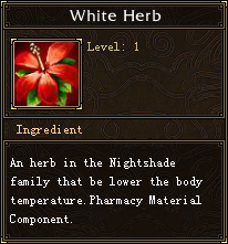 White Herb