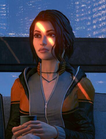 File:Zoe with coffee closeup-0.jpg