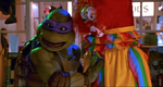 TMNT 2 SECRET OF THE OOZE CLOWNING AROUND