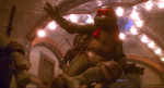 TMNT 2 SECRET OF THE OOZE RAPH SLIDE