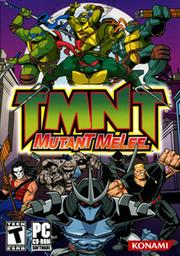 Teenage Mutant Ninja Turtles - Mutant Melee Coverart