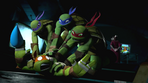 Turtles pounce on Mikey