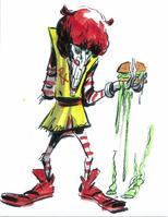 Clown mutant reject
