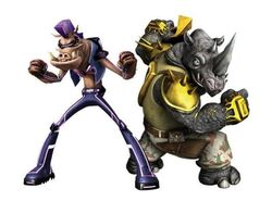 Bebop&Rocksteady