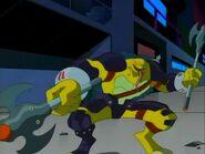 Dark Mikey goofy combat