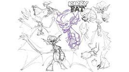 Kirby Bat Concept Art