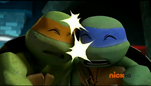 Leo and Mikey
